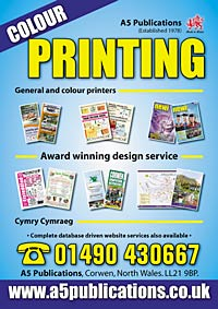 A5 Publications Leaflet